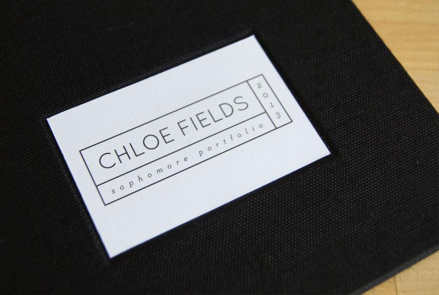 Acabamento Livro Cloe Fields
